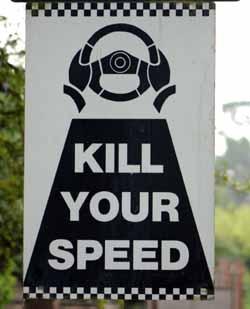 kill your speed